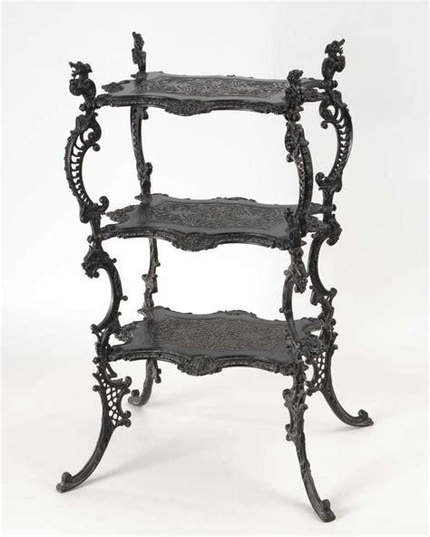 Etagere Translation by Lot 2806 Eisenguss Etagere From The Catalog Quot 91 The