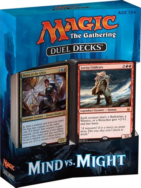Magic The Gathering  Duel Deck Mind Vs Might (trading