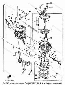 Yamaha Motorcycle 1997 Oem Parts Diagram For Carburetor