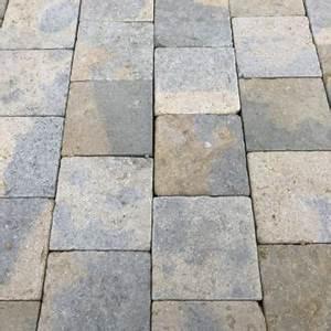 Dalle De Cheminement : pav kandla en gr s beige 14x14 et 14x20 bca mat riaux anciens ~ Melissatoandfro.com Idées de Décoration