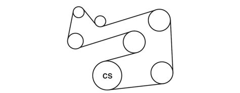 ford escape serpentine belt diagrams ricks  auto repair advice ricks  auto repair