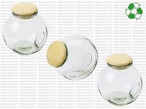 Bocal A Epice : bocal en verre pas cher bocaux verre couvercle bois ~ Teatrodelosmanantiales.com Idées de Décoration