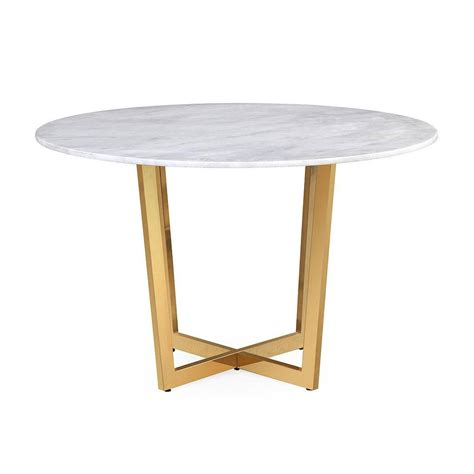 white marble table l munford white marble dining table froy