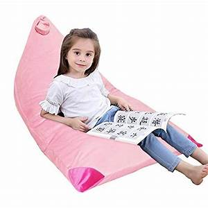 These, Top, Rated, Yhslmh, Kids, Bean, Bag, Chair, Soft, Velvet, Stuffed, Animal, Storage, Cover, Only