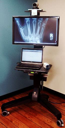 portable video conference medical diagnostic carts pjs