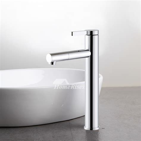 chrome bathroom faucet silver single handle modern vanity