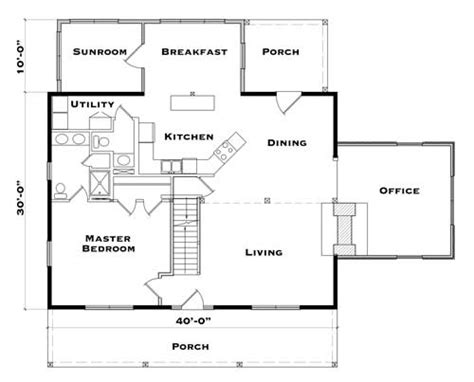 retreat log home plan  hearthstone