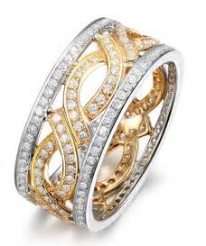antique gold wedding rings 1 carat antique wedding ring band in two tone white and yellow gold jewelocean