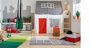 Innovative IKEA HACKS Fr39s Kinderzimmer Das Kinderbett KURA