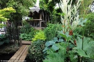 Atlanta Plant Nursery by Man Creates Exotic Paradise Garden With Banana Plants And