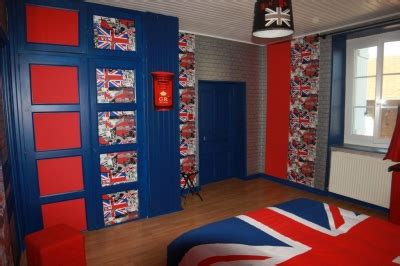chambre style londres deco chambre style voyage sponsorisé