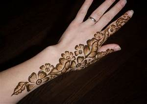 20 Simple Mehndi Designs For Hands - Pakistani.PK