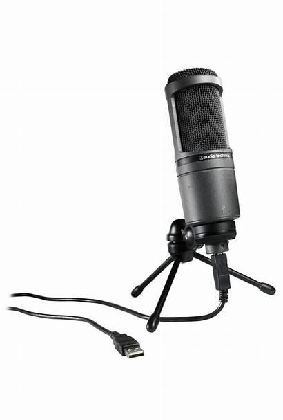 Usb At2020 Microphone Audio Technica Mic Studio