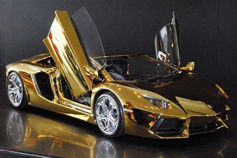 golden ferrari price 100 lamborghini golden gold chrome lamborghini