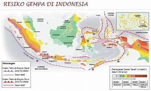 Peta Resiko Gempa Di Indonesia  U00ab Forum Tata Ruang