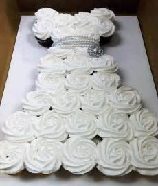 wonderful diy amazing wedding dress cupcake - Wedding Dress Cupcakes