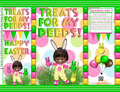 printable easter cards decorations gift wrapping bags