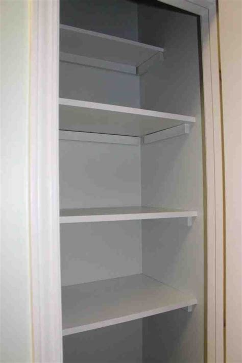 lowes pantry shelving wooden closet shelves