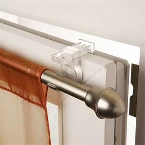 Rideaux à Poser Sur Fenêtres : rideaux sans percer ~ Premium-room.com Idées de Décoration