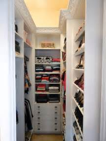 Small Walk-In Closet Design Ideas