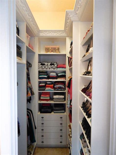 Long Kitchen Design Ideas - small walk in closet designs ideas saomc co