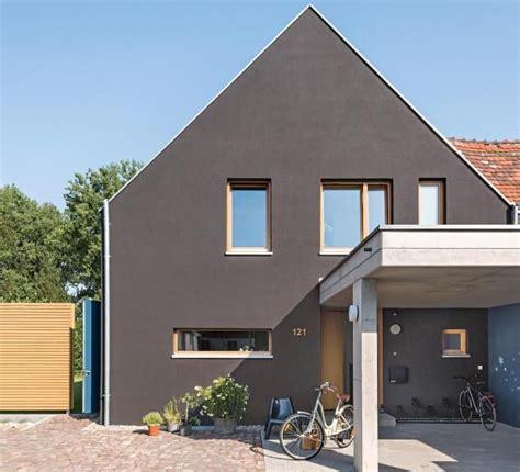 Wohnen Haus Des Jahres 2015 by Die Besten 25 Fassadenfarbe Grau Ideen Auf
