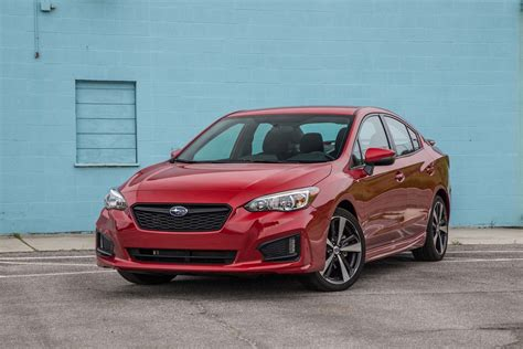 subaru impreza hatchback 2017 subaru impreza sedan and hatchback first test