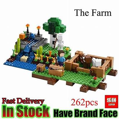 Farm Minecraft Lepin Animals Aliexpress Toys Gifts