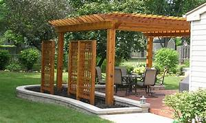 Arbors, Pergolas, and More on Pinterest Pergolas