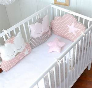 Tour De Lit Bébé Nuage : 17 best ideas about tour de lit on pinterest bebe bebe ~ Melissatoandfro.com Idées de Décoration