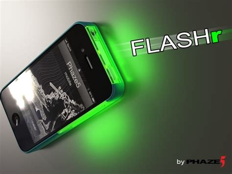led iphone flashr ios led flash notifications for iphone 4 4s