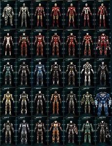 Las, Armaduras, De, Iron, Man, -, Infograf, U00edas, Y, M, U00e1s