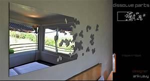 Miroir Mural Design Grande Taille : miroir d coration murale ~ Teatrodelosmanantiales.com Idées de Décoration