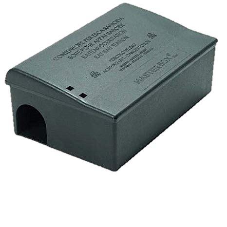 igiene ambientale dispense trappola per topi e ratti masterbox maxi nero pulindustriale