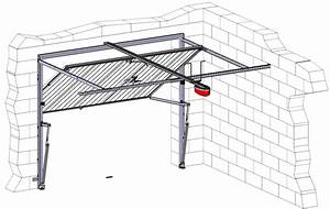 Motorisation De Porte De Garage : motorisations pour portes de garage axone spadone ~ Melissatoandfro.com Idées de Décoration