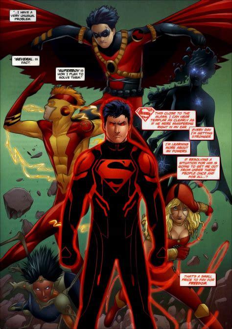 Superboy Kon El Superman Wiki