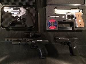 Walther Nighthawk Pellet Pistol Combo