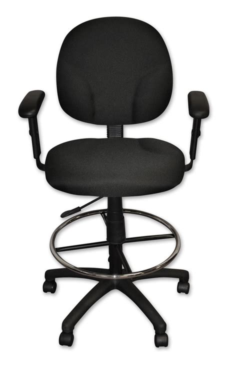 counter height desk chair whitevan