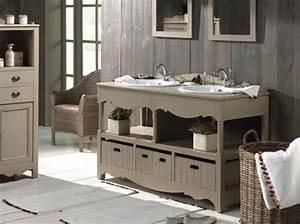 un meuble ancien pour ma salle de bains elle decoration With meuble salle de bain ancien en bois