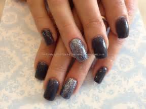 Eye candy nails training acrylic with dark grey