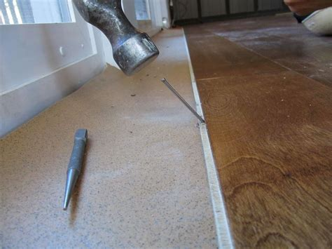 how to nail wood flooring nailing hardwood floors by hand floor matttroy