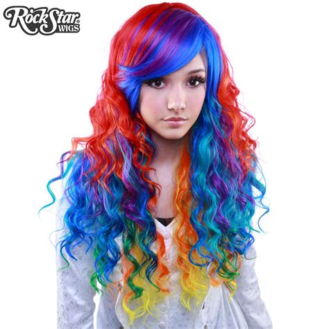 rockstar wigs rainbow rock collection hair prism
