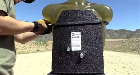 Ar500 Armor Plate Vs. 12 Gauge Slugs [video]