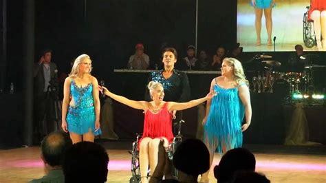 comedian leanne morgans dance routine  dancing