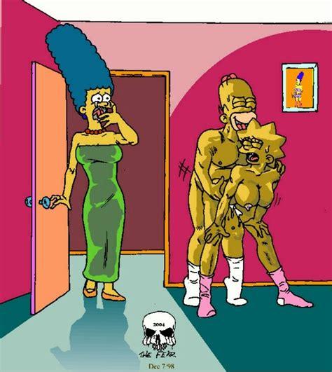 Rule 34 Female Homer Simpson Human Lisa Simpson Male