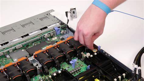 dell emc poweredge  removeinstall left rack ear