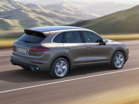 porsche truck 2017 new 2017 porsche cayenne price photos reviews safety