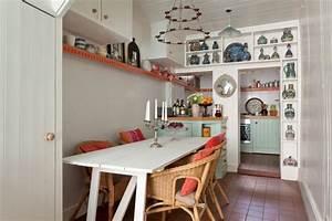 Kleine Küchen Einrichten : ideen kleine k che einrichten nd r ~ Indierocktalk.com Haus und Dekorationen