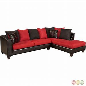 riverstone victory lane cardinal microfiber sectional With lane sectional sofa with chaise microfiber