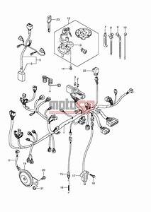 Motosp - Suzuki - Dl650a  E2  Abs V-strom 2008 - Electrical  U3k7